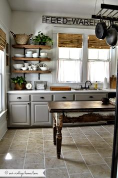 our vintage home love: Kitchen Updates