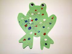 Preschool Crafts for Kids*: Summer Frog Craft