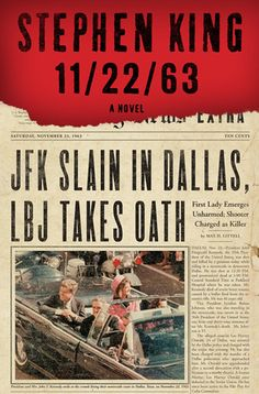 11/22/63 by Stephen King: fascinating story. Putting together time travel and JFK was a masterstroke of an idea, and it works with spectacular success. It's a satisfying -- albeit long -- read.