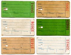 Vintage labels to print or play with in digital collages.