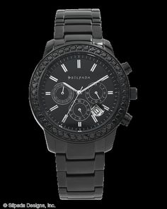 Black On Black Watch, Watches - Silpada Designs