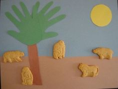 Zoo animals craft
