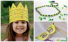 4 Mardi Gras crafts for kids