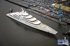 Azzam, el yate privado más grande del mundo (3) (The big yacht Azzam)