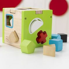 Learning and play all in one little cube! #toddler #toy