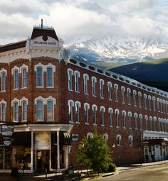 "Delaware Hotel | Leadville Colorado. Had lunch here. Beautiful historic town, home of ""the unsinkable"" Molly Brown!  Can't wait to go back!"