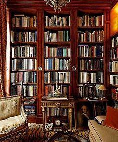 Books make a room....