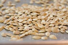 Roasted Pumpkin Seeds (from The Pioneer Woman)
