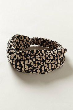 Leo Turban Headband #anthropologie
