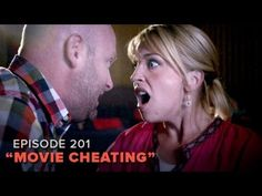 """""""Movie Cheating"""" - Pretty Darn Funny Season 2 - Ep. 1. After months of rescheduling date night, Gracie and Darrell's only option to see a long-awaited blockbuster is the nearly-condemned discount theater. What Gracie doesn't know is that Darrell has already seen the movie, without her..."""