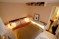 bedroom storage, quarto, small bedrooms, storage cabinets, bedside tables, shelv, apartments, small space, light