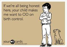 some kids, including mine sometimes