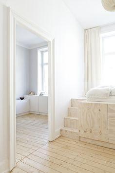my scandinavian home: Ausbau apartment by Studio Oink