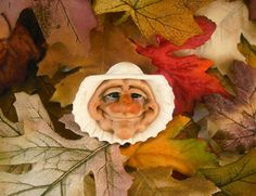 shell art, fairi, clay creation, clay sculptur, polym clay, polymer clay, clay doll