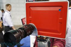 Padcaster / Lenscaster lets you mount SLR lenses on iPad, we go hands-on at NAB (video)