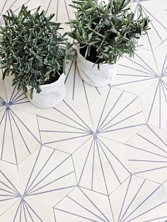 Dandelion tiles // Marrakech Design