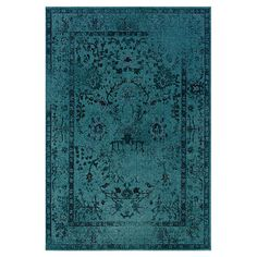 Matilda Indoor/Outdoor Rug in Teal at Joss & Main