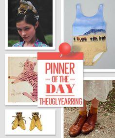 Som @ The Ugly Earring  http://pinterest.com/theuglyearring/  http://www.refinery29.com/pinterest-the-ugly-earring