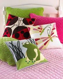 Felt Applique Pillows
