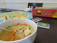 Gluten Free Chicken & Rice Soup #WeekdaySupper #RecipeOfTheDay