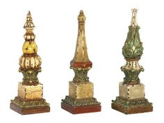 Old world finials