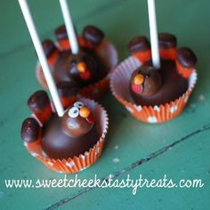 thanksgiving cake pops - Google Search