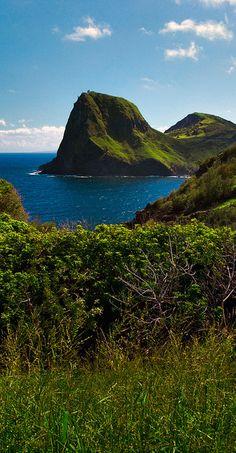 Maui northern coastline, Hawaii