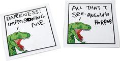 Dinosaur Comic sticky notes