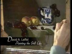 Signilar Art Videos - David Leffel Painting the Still Life