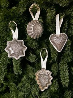 Homemade Christmas Ornments - Easy Christmas Ornament Crafts - Country Living