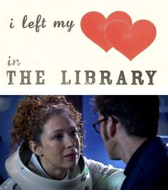 I left my hearts in the library. :(  #DoctorWho