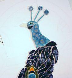 2ft peacock, mosaics, etsi, special imag, 11500, peacock tile, tile mural, mosaic art, mural tile