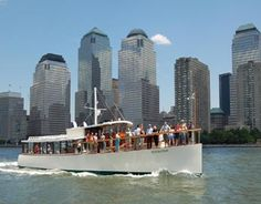 Luxury Yacht save $10 a ticket on a NY Harbor cruise