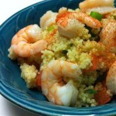Shrimp Couscous Salad