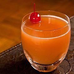 Winter #cocktails under 200 cals: Pear Honeybush #recipe