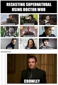 Supernatural/Doctor Who (via: https://www.facebook.com/pages/Doctor-Who-and-the-TARDIS/276710412383657?ref=stream_location=stream )