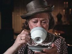 Mrs Brimmer sees some bad news for Mary Ellen in the tea leaves