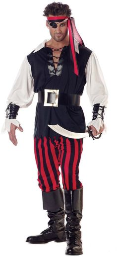 Cutthroat #Pirate Adult #Costume
