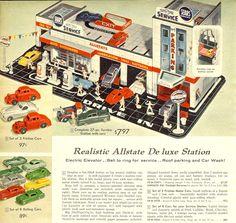 1958 Sear service station ad