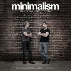 Did you know that all of The Minimalists' books are available as professionally recorded audiobooks? http://themins.co/minimalists-audio