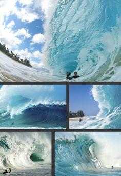 Clark Little - Waimea Bay shorebreak