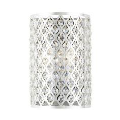 Ashford Classics Lighting Modern Crystal Wall Sconce with Two Lights | 2248 | Destination Lighting