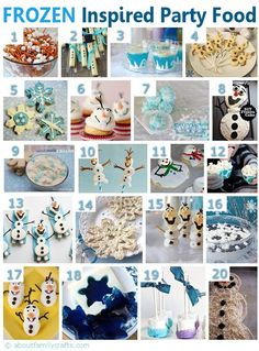 75+ DIY Frozen Birthday Party Ideas | About Family Crafts. Maybe I could use some of these for babysitting in the summer with the girls