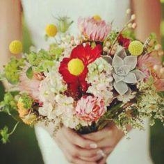 wedding bouquets, dream romanc, wedding loose bouquet