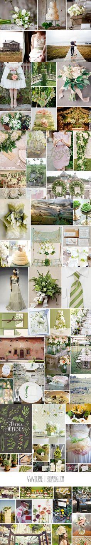 green wedding inspiration http://burnettsboards.com/category/greens/