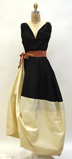 1953 Madame Gres Evening dress