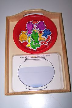 Montessori Inspired Dr. Seuss Activities.  www.theprincessan...