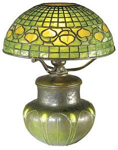 bungalows, tiffani art, art crafts, american art, craft lamp