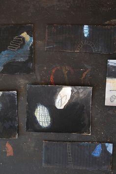 Enhabiten peinture sur carton