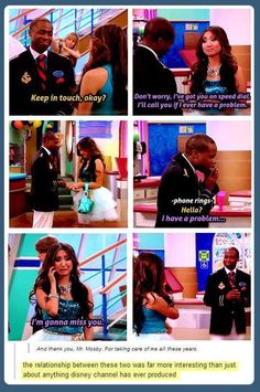The best relationship on the Disney channel